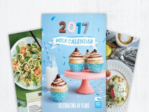 Dairy Farmers of Canada Free 2017 Milk Calendar