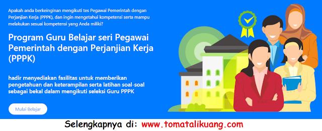 Pendaftaran Program Guru Belajar Kemendikbud Seri PPPK 2021 (Pegawai Pemerintah dengan Perjanjian Kerja)