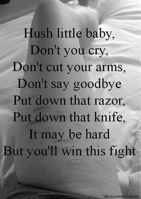 Suicide/ Self-harm Quotes and Poem's - I'm sorry - Wattpad |Self Harm Poems Quotes