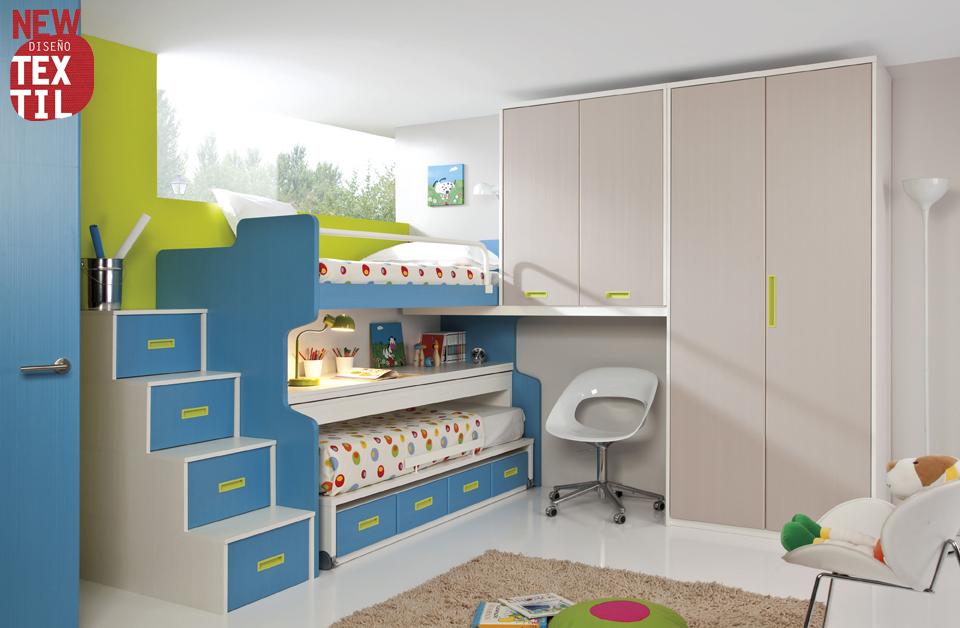Dormitorios juveniles economicos for Habitaciones juveniles abatibles