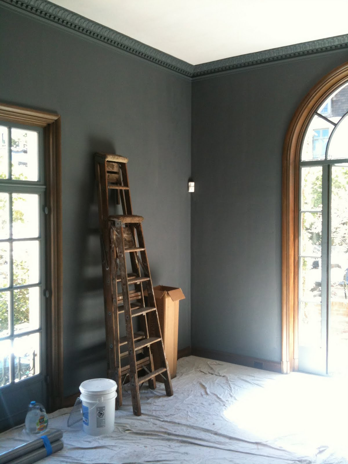 I D Love This Color For The Livingroom Or Study Elegant