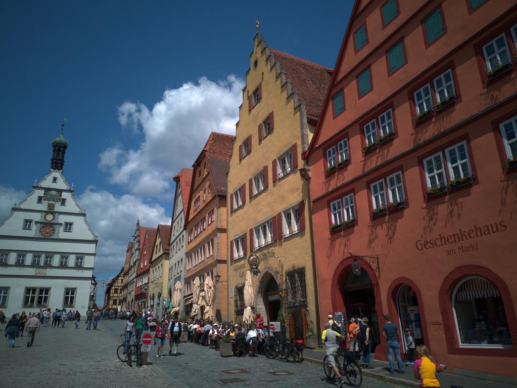 Huawai P20 – Marktplatz Rothenburg ob der Tauber