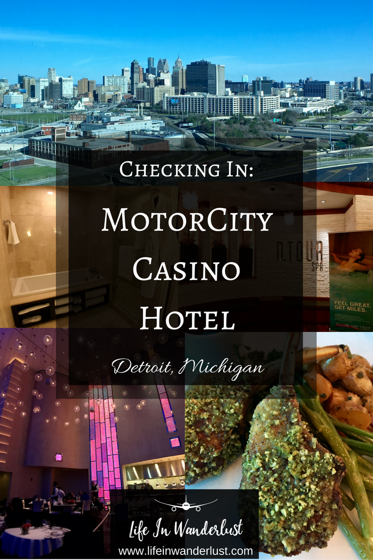 Checking in motorcity casino hotel in detroit michigan for Motor city casino hotels