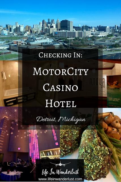 Checking In Motorcity Casino Hotel In Detroit Michigan