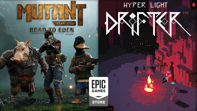 Epic Games Menggratiskan Hyper Light Drifter & Mutant Year Zero Road: To Eden