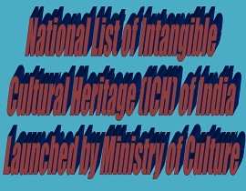 National List of Intangible Cultural Heritage (ICH) ,letsupdate