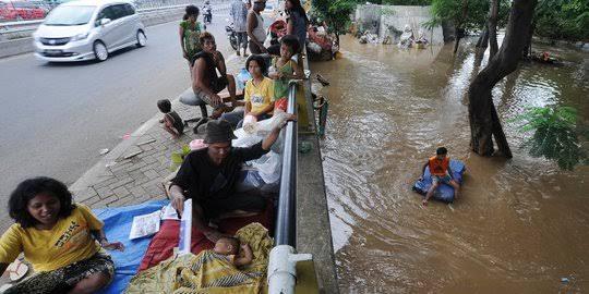 Lombok Tengah Di Landa Banjir Bandang
