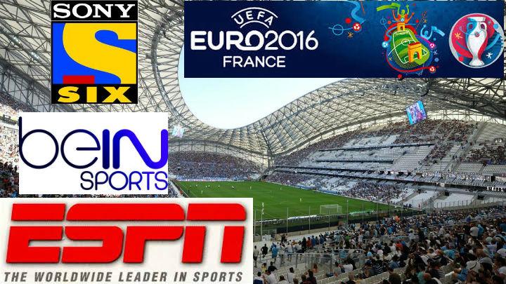Euro 2016 Broadcasting Rights USA, UK, India, Australia
