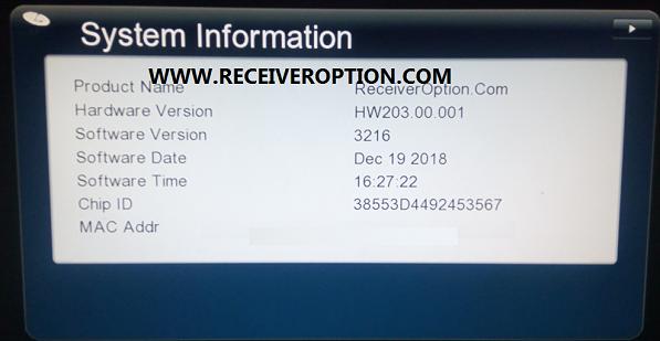 latest starsat gx6605s firmware HW203.00.001