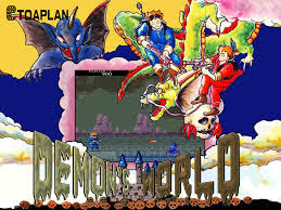 (Retronube) Demon's World