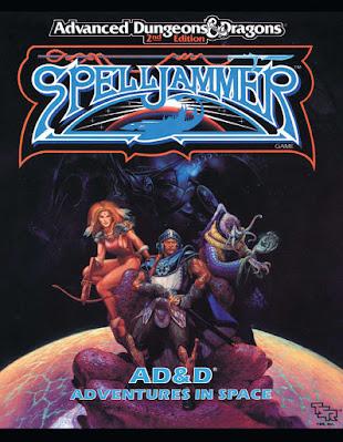 Cover of the Spelljammer book