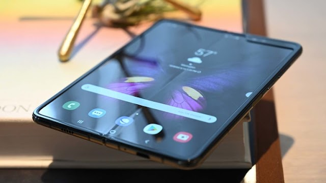 What time will Samsung announce in the new phone Galaxy Fold, After fixing the screen defects
