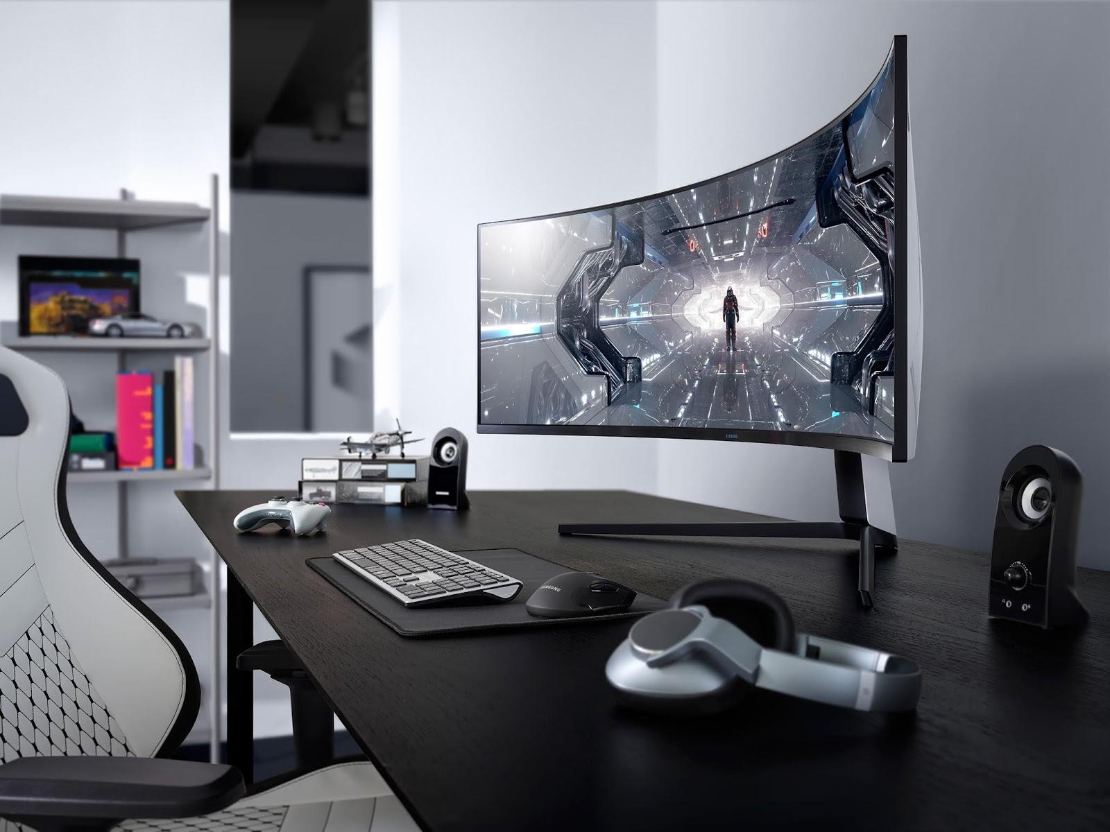 CES 2020: Samsung presenta la nueva línea de monitores para juegos Odyssey