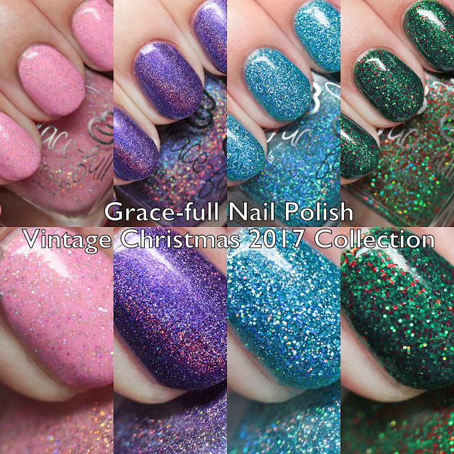 Grace-full Nail Polish Vintage Christmas 2017 Collection