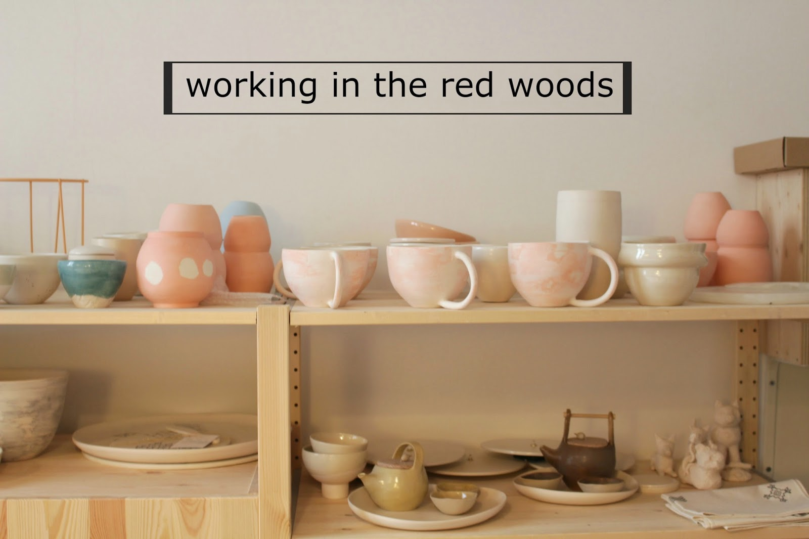 working in the red woods - miriam cernuda
