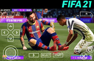 Download FIFA 21 PPSSPP Android Offline Best Graphic Full HD Update Jersey & Transfer 2020 2021