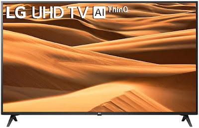 LG 126 cm (50 inches) 4K Ultra HD Smart LED TV