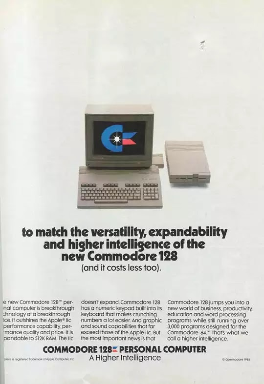 Old days' Computer Advertisements 22
