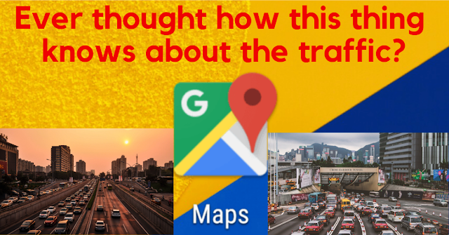 google maps live traffic data