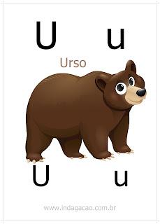 Alfabeto Ilustrado Com Animais Pronto Para Imprimir Em Pdf
