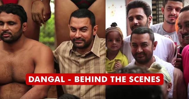 Dangal Behind The Scene