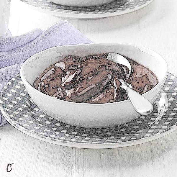 Light & Creamy Chocolate Pudding 🍮