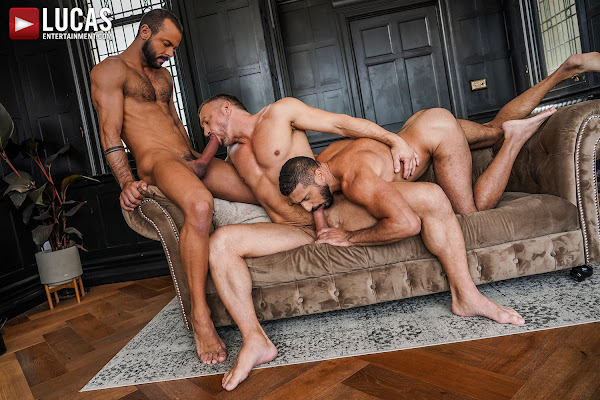#LucasEntertainment - TOMAS BRAND AND SIR PETER SPIT-ROAST MARCO NAPOLI