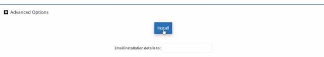 install wordpress on inmotion hosting using cpanel