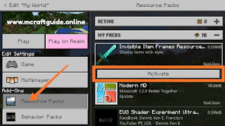 Minecraft Invisible Item Frame mod