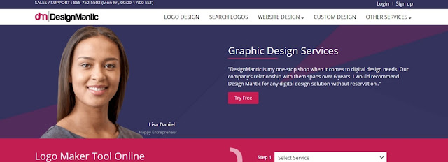 Designmantic Logo Maker