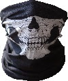 Image: UrbanSource Black Skull Face Tube Mask
