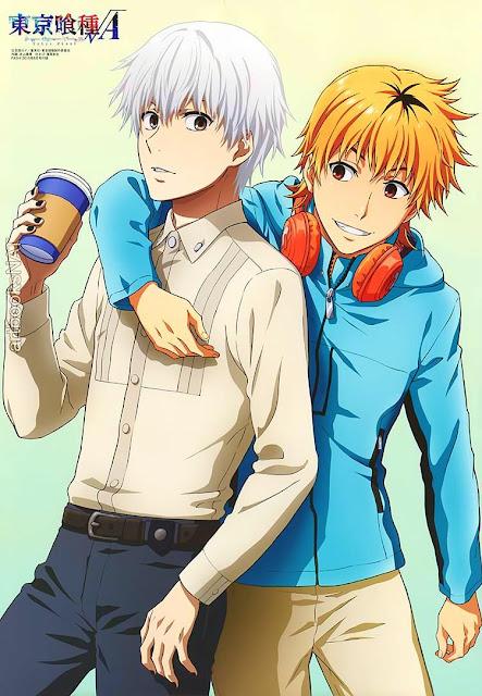Friendship: Tokyo Ghouls - Kaneki Ken & Hideyoshi Nagachika