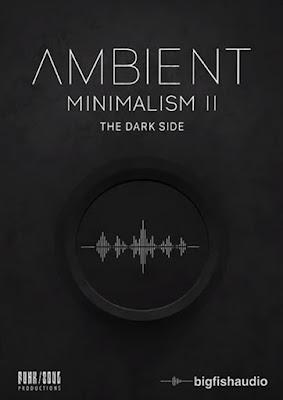 Cover da Library Big Fish Audio - Ambient Minimalism 2: The Dark Side (KONTAKT)