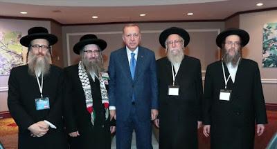 Ο Ερντογάν συναντιέται με Εβραίους στις ΗΠΑ