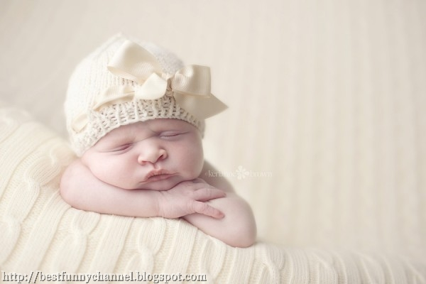 Cute sleeping baby.