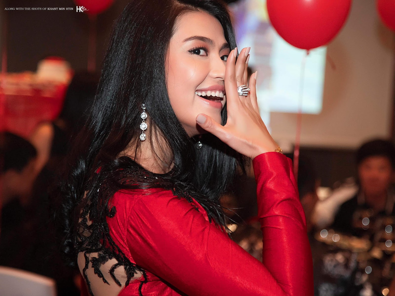 Happy Birthday Ei Chaw Po : Photos from Her Birthday Party
