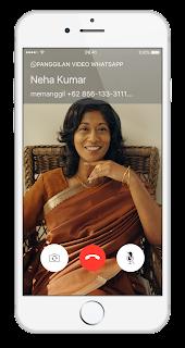 Cara Video Call di WhatsApp Terbaru