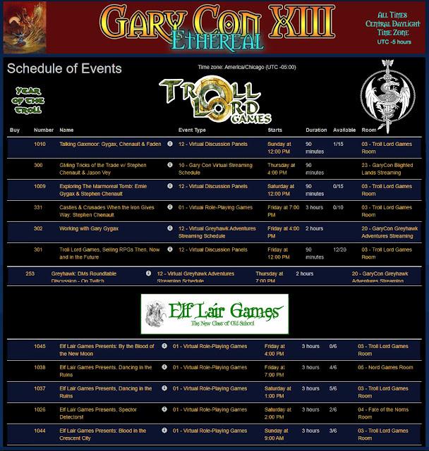 Gary Con events