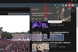 Cara Picture-in-Picture Video Youtube di Browser Chrome Laptop atau PC