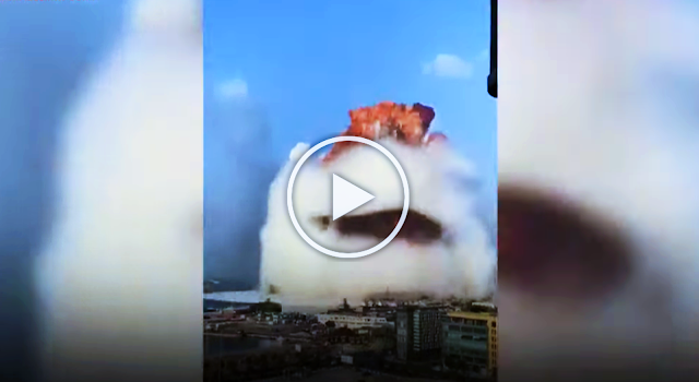 Ledakan di Libanon Disebut Mirip Bom Hiroshima, Lihat Video Amatirnya! #PrayForLebanon
