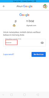 Cara Ganti Password Gmail Lewat HP