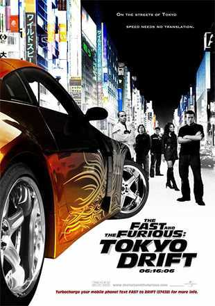 The Fast and the Furious: Tokyo Drift 2006 BRRip 1080p Dual Audio In Hindi English