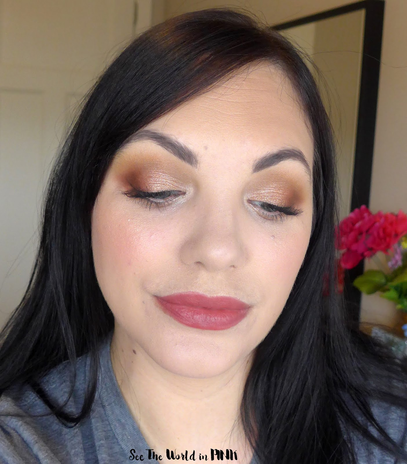 Too Faced Cosmetics Hot Buttered Rum Palette - Try-on, Swatches and Thoughts!