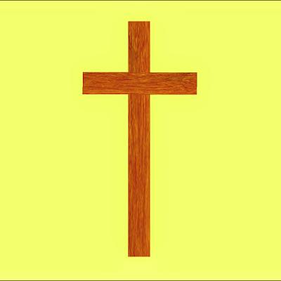 A foto mostra a cruz vazia que significa que Jesus Ressuscitou no terceiro dia como afirma os Evangelhos.