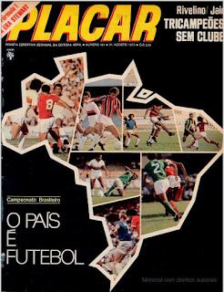 Revista Placar Ed. 181 - Agosto/1973
