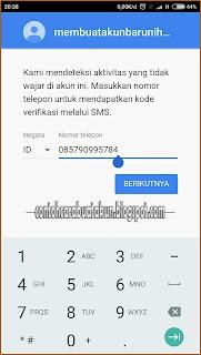 Tidak Bisa Masuk Akun Google Di Android