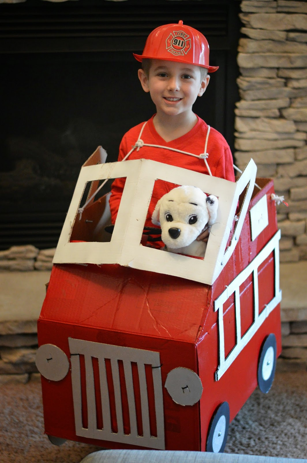 Kye's 1st School Project: Fireman