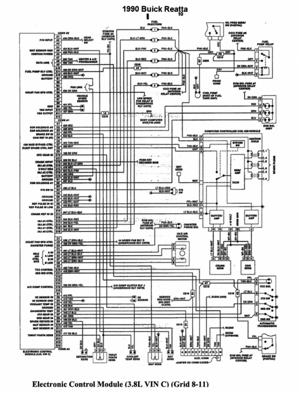 Camaro 3 8 Engine Diagram 95 Buick Lesabre Ignition Wiring Trusted Diagrams Schematic Chevy 1995 Park