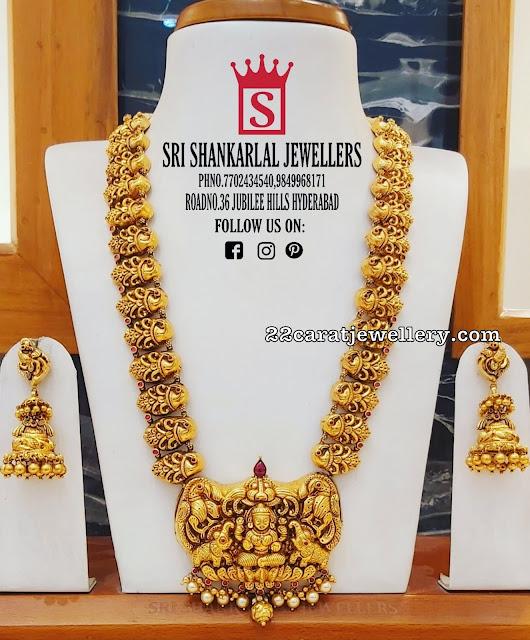 Antique Set by Sri Shankarlal Jewellers