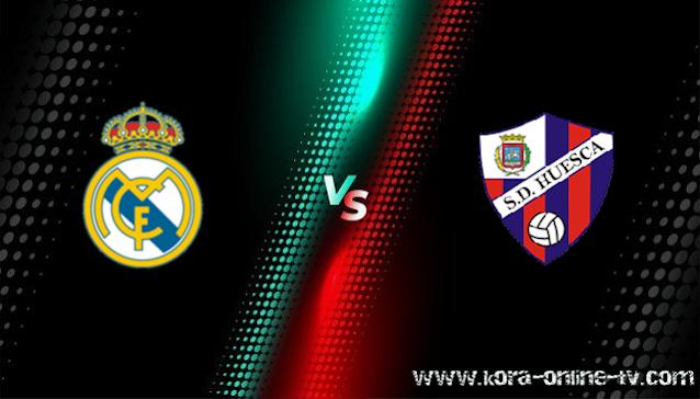 مشاهدة مباراة هويسكا وريال مدريد بث مباشر  الدوري الاسباني